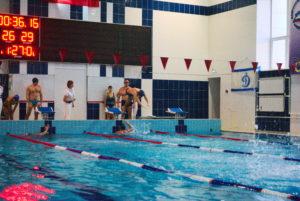 спартакиада плавание